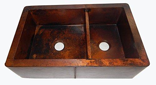 Copper Double Bowl Apron - 2