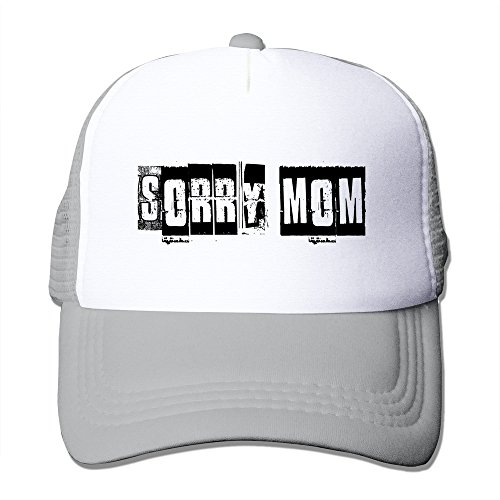 Mens Sorry Mom Mesh Back Trucker Hats