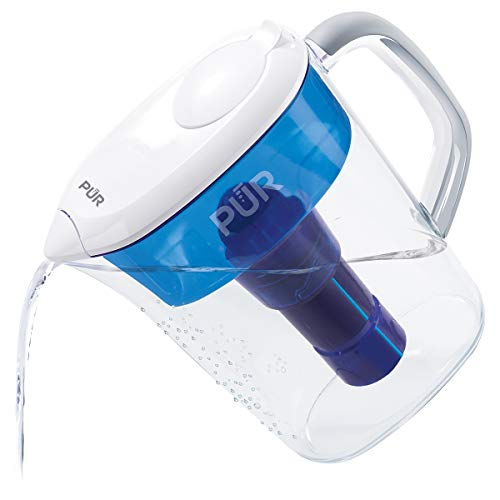 PUR 7 Cup Basic Water Filtration Pitcher, Filter Helps Reduce Chlorine...