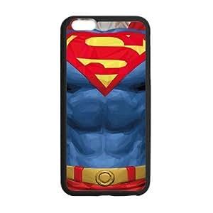 the Case Shop- Super Man Superman Super Hero TPU Rubber Hard Back Case Silicone Cover Skin for iPhone 6 Plus 5.5 Inch , i6pxq-671