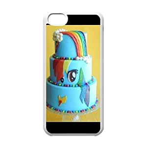 Custom Phone Case With my little pony cake Image - Nice Designed For iPhone 5C