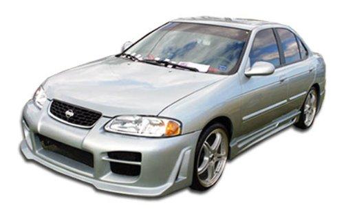 (Duraflex ED-AWD-363 R34 Side Skirts Rocker Panels - 2 Piece Body Kit - Compatible For Nissan Sentra 2000-2006)