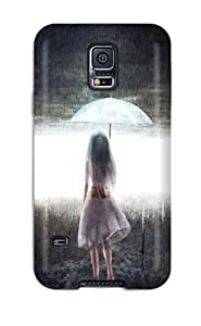 For DanRobertse Galaxy Protective Case, High Quality For Galaxy S5 Original Anime Girl Skin Case Cover