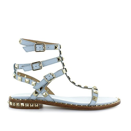 Ash Women's Shoes Poison Ice Blue Sandal Spring Summer 2018