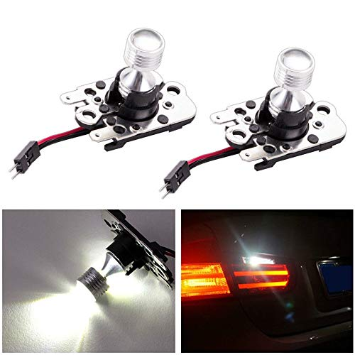 GFJMC Pair PH16W Cree 30W LED Backup Reverse for Audi A8 A8L BMW E90 E92 E93 High Power Super Bright Error Free Canbus