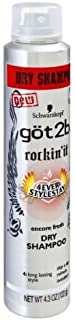 product image for Got2b Rockin' It Dry Shampoo - Encore Fresh - Net Wt. 4.3 OZ (122 g) Each - Pack of 3 by Got2b