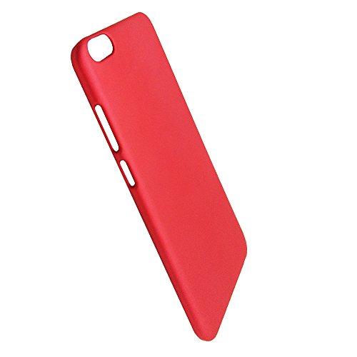 SDO™ Slim Matte Finish Hard Back Case Cover for Vivo V5 / Vivo V5s  Maroon Wine Red