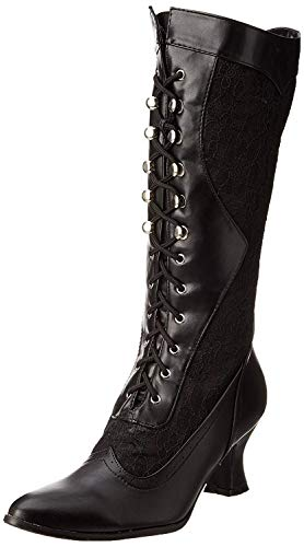 Ellie Shoes Women's 253 Rebecca Victorian Boot, Black, 7 M US from Ellie Shoes