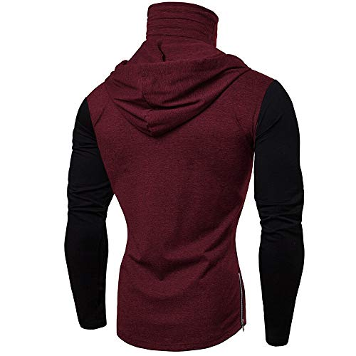 15 T Wine Lunga Manica Floreale Timemean Uomo shirt Casual SxwRPqd8q