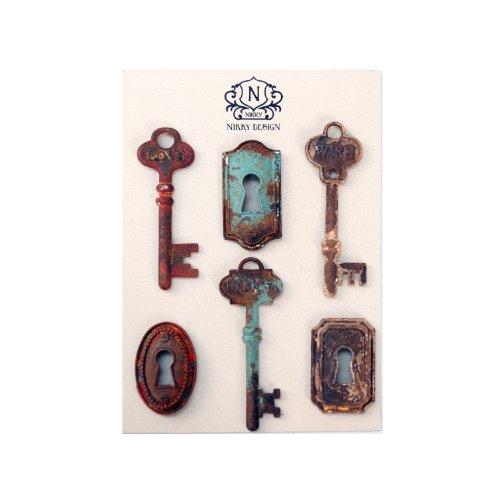 Resin Key Magnet Set ()