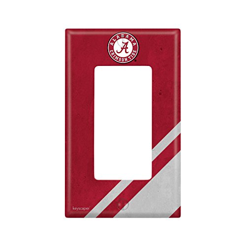 Alabama Light Switch Cover (Alabama Crimson Tide Single Rocker Light Switch Cover NCAA)