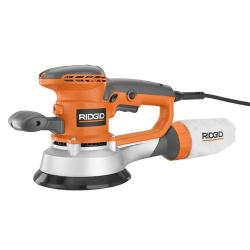 RIDGID ZRR2611 Professional 6-inch Random Orbit Variable Speed Sander (Certified Refurbished) by Ridgid