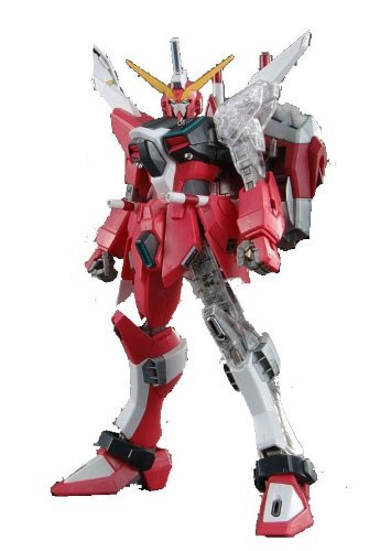 Grade Master Destiny Gundam (Gundam ZGMF-19A Infinite Justice Gundam with Extra Clear Body parts MG 1/100 Scale)