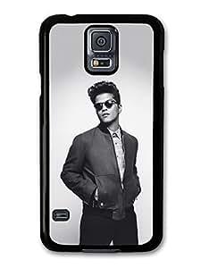 AMAF ? Accessories Bruno Mars Sunglasses Black & White Portrait case for Samsung Galaxy S5
