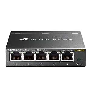 TP-Link 5-Port Gigabit Ethernet Easy Smart Switch (TL-SG105E)