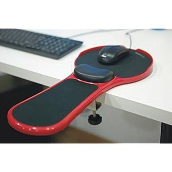 Charming Premium Adjustable Computer Wrist Rest Armrest   Desk And Chair Dual  Purpose Attachable Homeu0026Office Computer Arm