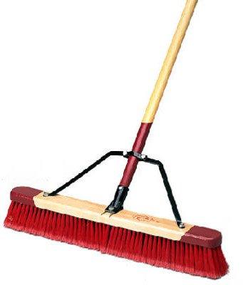 Harper Brush 3024a 24 Fine Medium Debris Pushbroom W