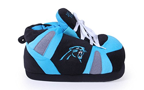 Mens Feet Slippers OFFICIALLY Carolina Happy Womens and Feet LICENSED Sneaker Comfy Panthers NFL HXTZn6wqT