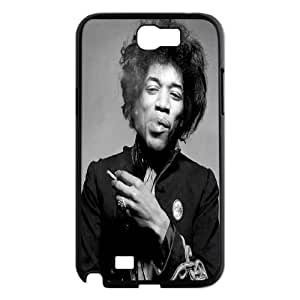 LSQDIY(R) Jimi Hendrix Samsung Galaxy Note 2 N7100 Case, Custom Samsung Galaxy Note 2 N7100 Phone Case Jimi Hendrix