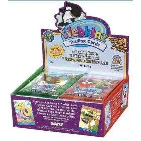 (Webkinz Trading Cards Series 4 - 1 Pack)