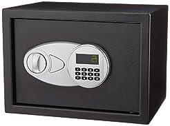 AmazonBasics Security Safe Box, 0.5 Cubi...
