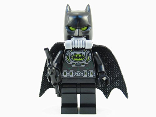 LEGO DC Super Heroes Gas Mask Batman Minifigure 76054 Mini Fig