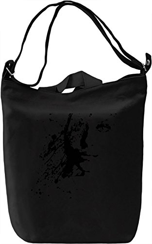 Black and White Woman Portrait Borsa Giornaliera Canvas Canvas Day Bag| 100% Premium Cotton Canvas| DTG Printing|