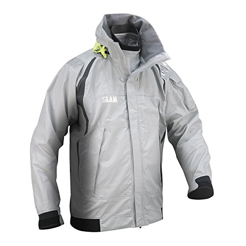 A Light visible Ripstop 25 000 Uomo Chiaro Nylon Grey Force Strati Cappuccio Impermeabile nbsp;mm Slam Da In Highly 4 Patch Con Grigio Riflettente nbsp;giacca TxAqnPB