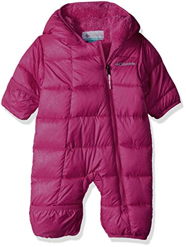Columbia Unisex Baby Infant Frosty Freeze Bunting, Cactus Pink Emboss, -