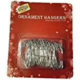 Holiday Essentials Metal Christmas Tree Ornament Hooks - 1.38 Inch - 100/Pk