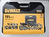 dewalt 181 mechanics tool set black chrome