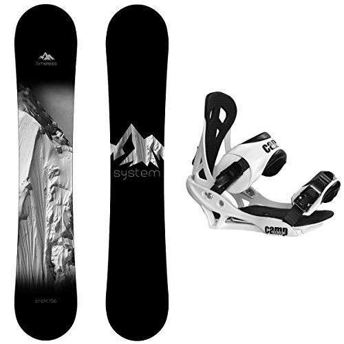 Package-System Timeless Snowboard 158 cm Wide-Summit (Ride Snowboard 158cm)