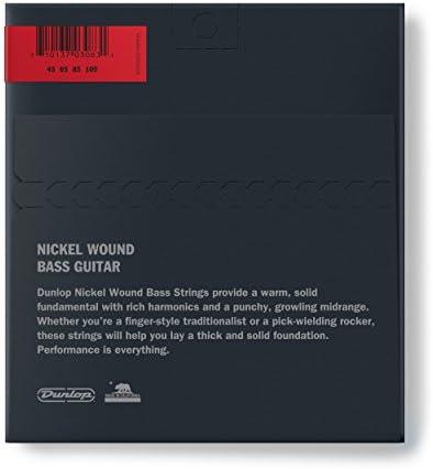 Saitensatz für E-Bass TENSON Nickel Wound 045-105 Medium-Light