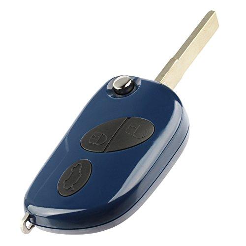 Part Maserati - Key Fob Remote fits Maserati 2008-2017 GranTurismo / 2005-2013 Quattroporte / 2010-2016 GranCabrio (RX2TRF937)
