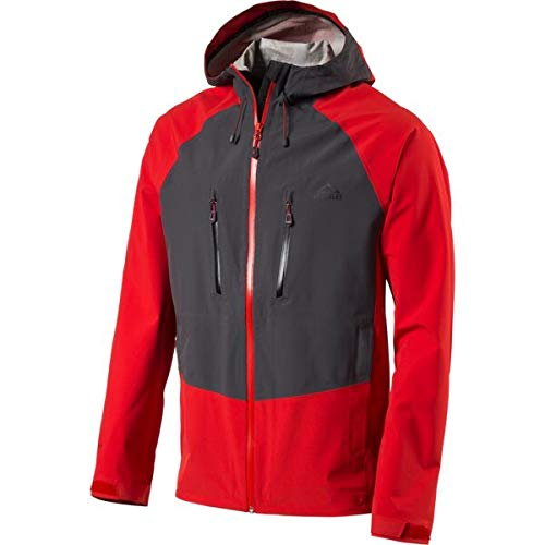 McKINLEY H-Funkt-Jacke Rooster Ii - rot Anthracite