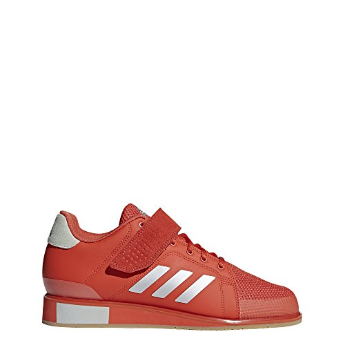 adidas Men's Power Perfect III. Cross Trainer, ash Silver Metallic/raw Amber, 7.5 M US
