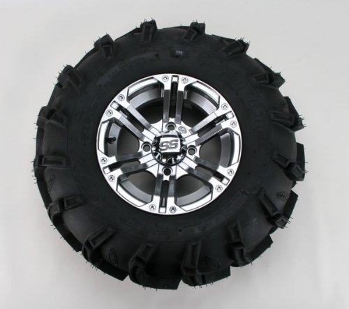ITP Mud Lite XL, SS212, Tire/Wheel Kit - 26x12x12 - Platinum 46532R