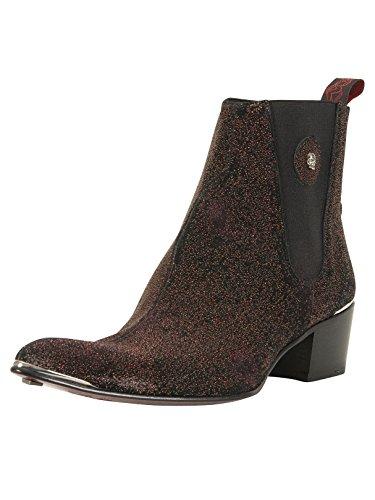 434eb59e7bfae Jeffery West Men's Leather Sylvian Boots, Black, ...