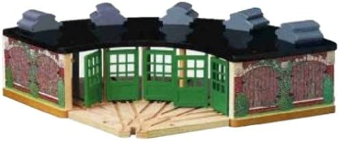 B00000JIC6 Thomas And Friends Wooden Railway - Roundhouse 41mFcAVXi1L.