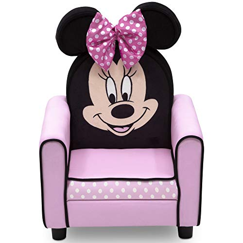 Delta Children Figural Upholstered Kids Chair, Disney Minnie Mouse ()