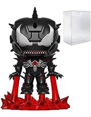 POP Marvel: Venom - Venomized Iron Man Funko Pop! Vinyl Figure (Bundled with Compatible Pop Box Protector Case)