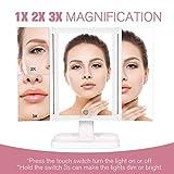 Wondruz Makeup Mirror Vanity Mirror with Lights, 3