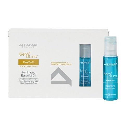 Semi Alfaparf Di Diamante Lino (Alfaparf Semi Di Lino Diamond Illuminating Essential Oil (12 x 13ml/0.43 Ounce))