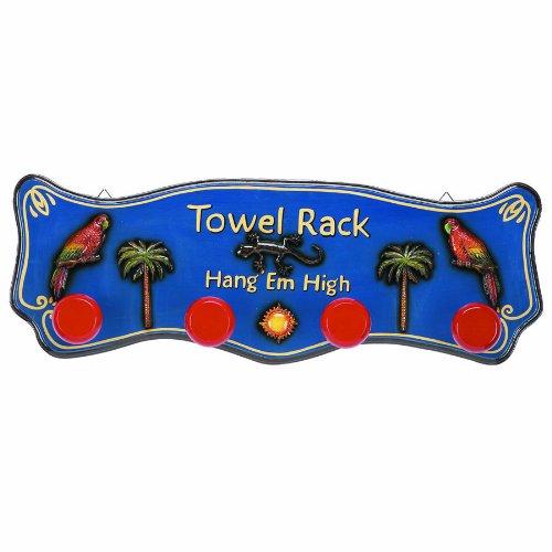 RAM Gameroom Products Outdoor Decor Towel Rack, 12 x 35-Inch