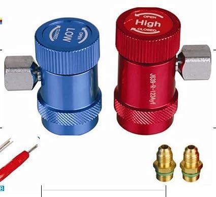 R1234YF colector calibre refrigerante sistema herramienta de reparaci/ón de autom/óviles a//c