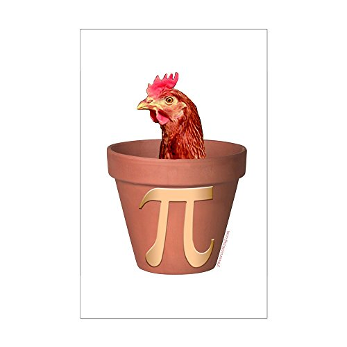 CafePress - Chicken Pot Pi - Mini Poster Print (Mini Chicken Pot Pi)