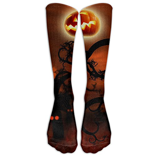 Pumpkin God Athletic Tube Stockings Football High (God Pumpkin)