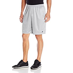 Champion Men's 9 Inch Mesh Short, C Logo