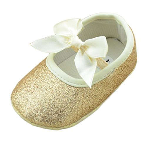 8ce301bc6c70a Perman Baby Girls Infant Glitter Shoes Sneaker Anti-slip Soft Sole Toddler