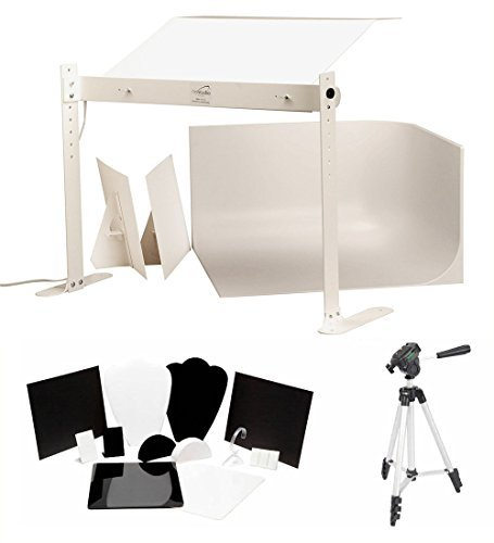 MyStudio MS20JLED Professional Tabletop Photo Studio Lightbox with LED Lighting for Product Photography [並行輸入品]   B07G9BDY1L